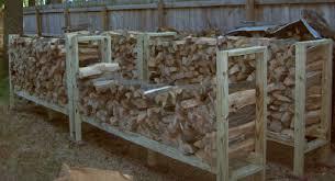 diy firewood rack wooden plans woodworking outdoor bench