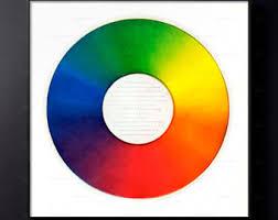 COLOR WHEEL Colorful Circle Circular Art Color Gradient Rainbow