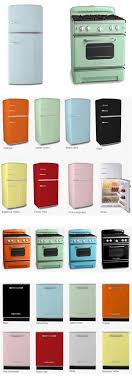 Big Chills Full Retro Kitchen Line That Includes Vintage Stoves And Fridges In 8 Standard