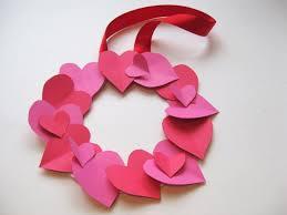 Valentine Crafts For Kids Easy Paper Heart Wreath Photo Credit Mdkoix62