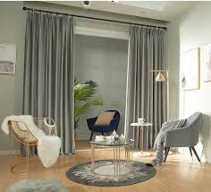 paar grau samt vorhänge schlafzimmer licht silber grau samt vorhänge wohnzimmer samt vorhänge benutzerdefinierte vorhänge