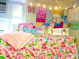 Preppy Room Decorations Lilly Dorm Gorgeous Teenage Girl Bedroom