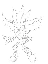 Sonic Coloring Pages For Kids Printable Free Coloring Pages