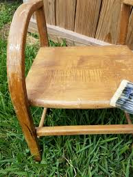 The Dump Patio Furniture by Little Antique Chair Makeover