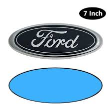 100 Blue Oval Truck Parts Ford Logo Front Grill Emblem Badge Replacement 9