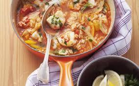 cuisine soupe de poisson soupe de poisson au fenouil cuisine et recettes recette femmes
