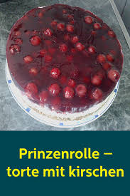 prinzenrolle torte mit kirschen food vegetables cake