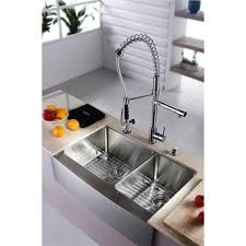 Double Farmhouse Sink Canada by Kitchen Kraus Sink For Outstanding Quality And Durability