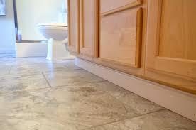 Groutable Vinyl Floor Tiles by Easy Update To Bathroom Floors Simply Darr Ling