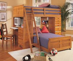Timbernest Loft Bed by Diy Bunkbed Loft Organizer