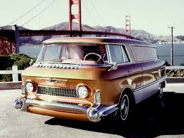100 Front Wheel Drive Trucks 1955 GMC LUniverselle V8 Front Wheel Drive Vantruck Prototype