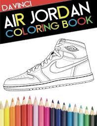 Air Jordan Coloring Book Sneaker Adult