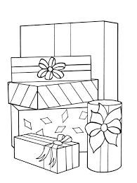 Gift Coloring Pages 5