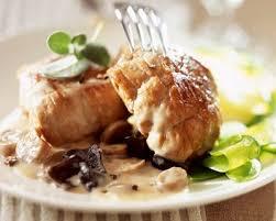 cuisiner du veau recette paupiettes de veau au vin blanc et chignons