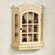 curio cabinet lighted curio cabinet ikea and wall mounted corner