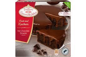 chocolate brownie kuchen coppenrath wiese warm