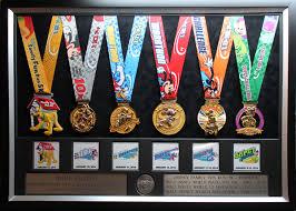 2014 Walt Disney World Marathon Half Plaques Frames