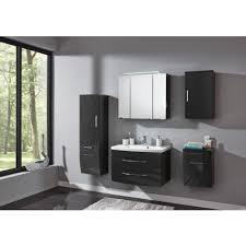 badezimmer komplett badmöbelset rom hochgl anthrazit anthrazit 5tlg