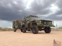 100 Bug Out Truck Blazer CUCV Military M1009 Out Zombie Killer MudDirt