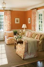 Brown Living Room Decorations by Best 25 Orange Living Rooms Ideas On Pinterest Orange Living