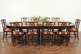 Marvelous Antique Dining Room Table And Chairs Set Sets For ...