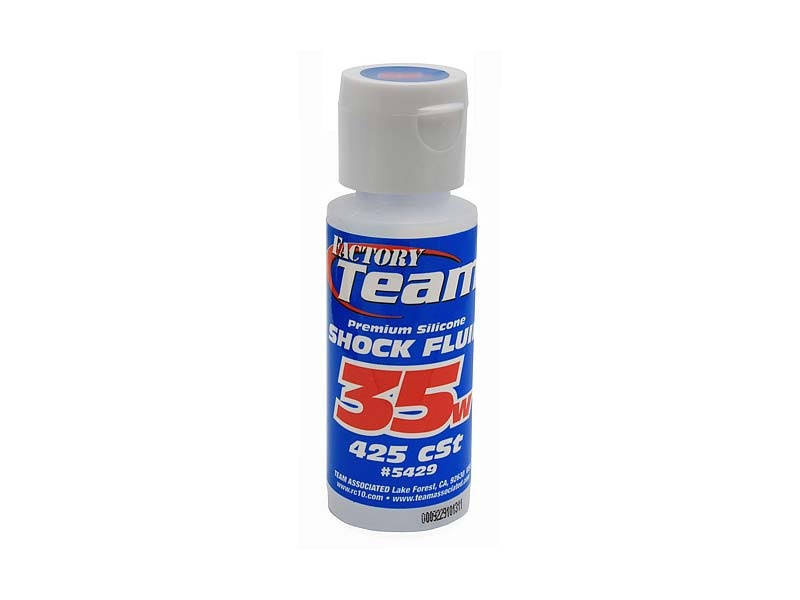 Team Associated 5429 35wt RC Vehicle Silicone Shock Oil - 2oz