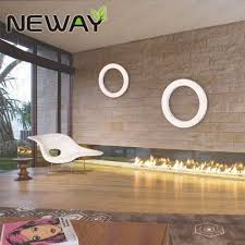 commercial led wall mount chandelier ring design for office
