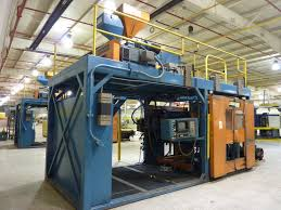 Halloween Blow Molds Ebay by Sterling 65 Ton Blow Molding Machine Se20 Used 38751 Ebay
