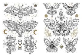 Pleasant The Tattoo Coloring Book Colouring Megamunden 9781780670126 Amazon