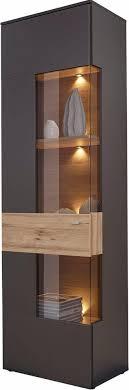 forte vitrine höhe 203 cm inkl beleuchtung otto