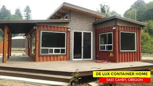 100 Small Homes Made From Shipping Containers De Lux Container Tiny House By Relevant Buildings Oregon USA