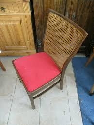 stuhl 2 stühle deco esszimmer hohe lehne geflecht federkern