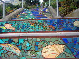 16th Avenue Tiled Steps Project by San Francisco The Adventures Of Elatlboy