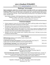 X Ray Tech Resume Examples Photo Gallery For Website Sample Ideas