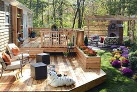 Floor Country Living Out Door Space Design Along With English