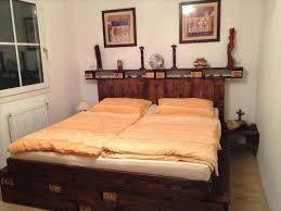 How To Make A Platform Bed From Wooden Pallets by 14 Creative Pallet Furniture Ideas