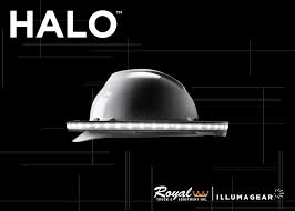 100 Dealers Truck Equipment Personal Safety Headlamp Illumagear HALO Royal