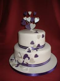 Full Size Of Wedding Cakes2 Tier Cakes Purple 2