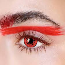 Starfish Cosplay Red 12 Month Contact Lenses StunningLens