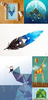 100 Natural Geometry Natural Geometry Art Illustration Painting