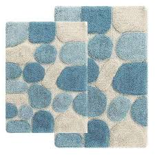 Royal Blue Bath Mat Set by Bath Rugs U0026 Mats Mats The Home Depot