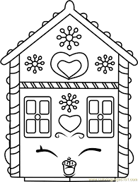 Ginger Fred Shopkins Coloring Page