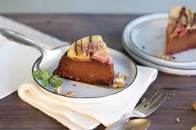 gesunder apfel schokoladen kuchen vegan glutenfrei ohne zucker