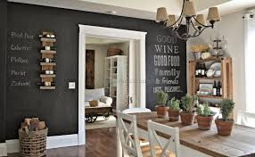 Accent Wall Ideas Dining Room Walls Pertaining To Prepare 10