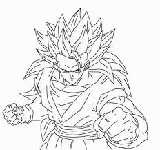 Dragon Ball Z Son Goku Put On Horse Coloring Pages For Kids Printable