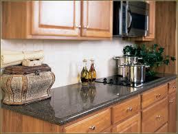 Kitchen Backsplash Ideas With Dark Oak Cabinets by Mosaic Tile Kitchen Backsplash With Oak Cabinets Laminate Homed
