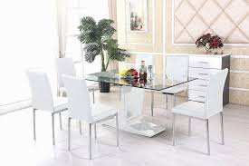 Magnificent Glass Table And 6 Chairs DINING TABLE GLASS ... Details About Set Of 5 Pcs Ding Table 4 Chairs Fniture Metal Glass Kitchen Room Breakfast 315 X 63 Rectangular Silver Indoor Outdoor 6 Stack By Flash Tarvola Black A 16 Liam 1 Tephra Alba Square Clear With Ashley 3025 60 Metalwood Hub Emsimply Bara 16m Walnut Signature Design By Besteneer With Magnificent And Ding Table Glass Overstock Alex Grey Counter Height