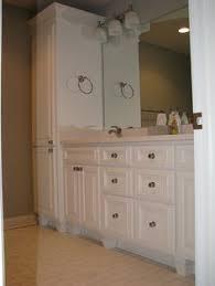 Bathroom Vanity Tower Cabinet by Bathroom Vanity With Linen Cabinet Genwitch