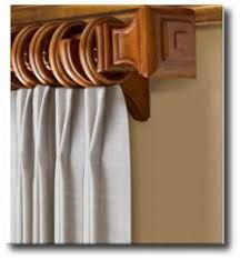Wooden Decorative Traverse Curtain Rods by Basicq Inc Kirsch Drapery Hardware