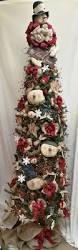 Prelit Christmas Tree Sets Itself Up by Best 25 Skinny Christmas Tree Ideas On Pinterest White